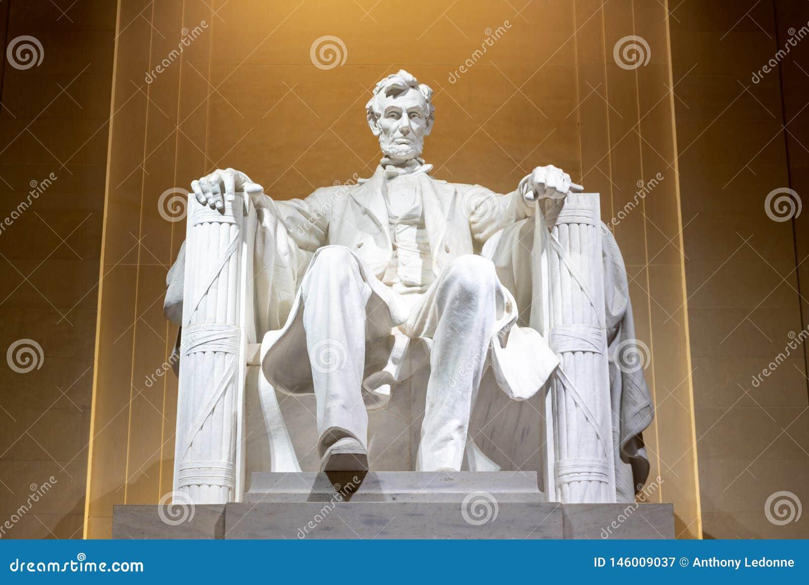 Lincoln Memorial la nuit