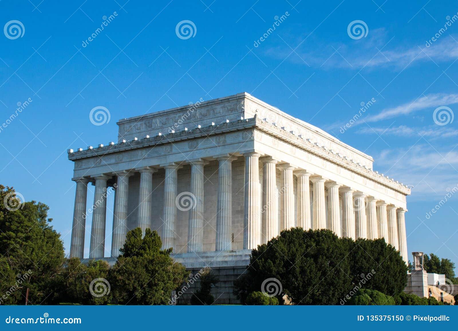 Lincoln Memorial majestueux, Washington D C,
