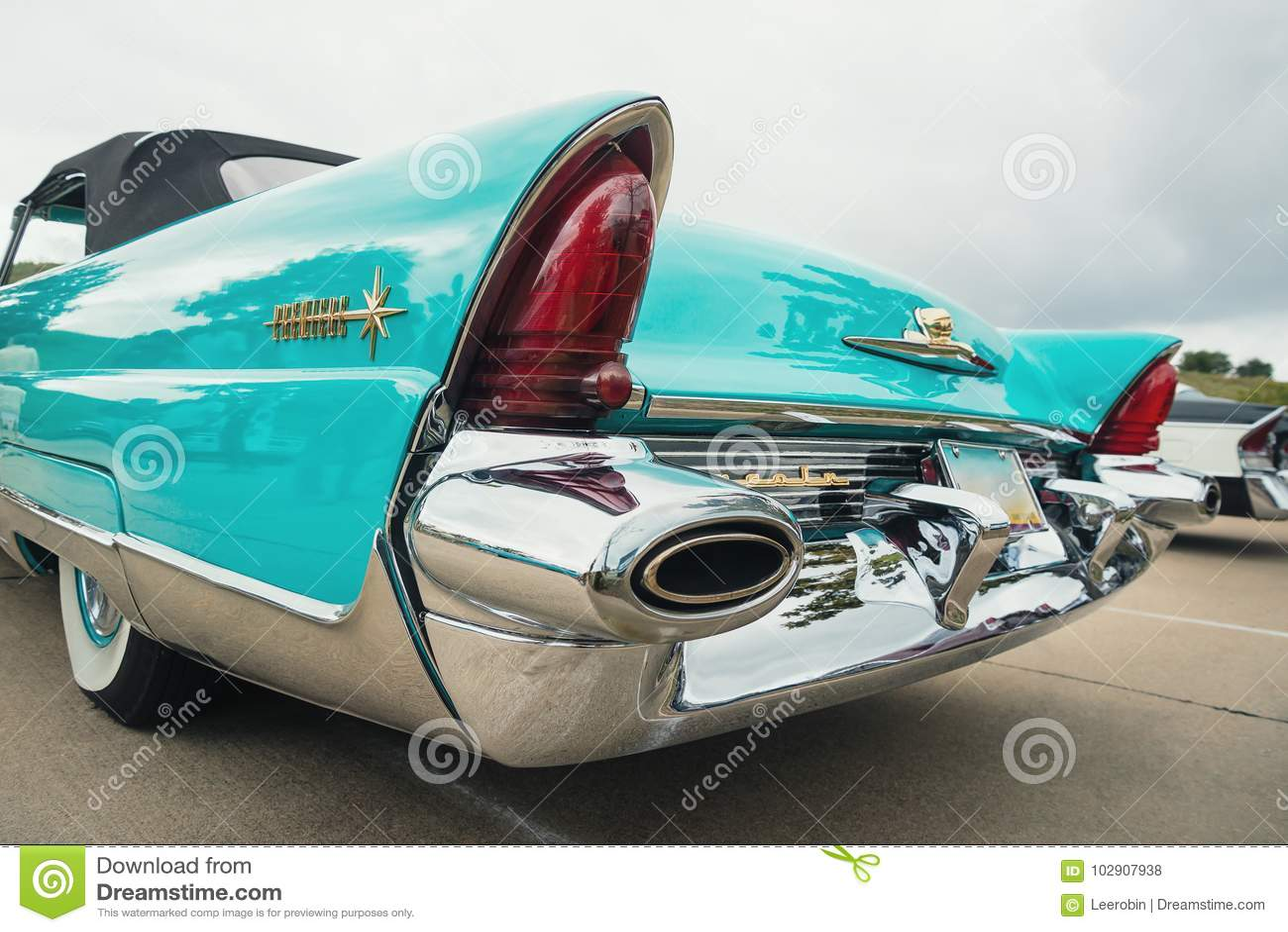 1956 Lincoln Premiere Convertible Classic Car