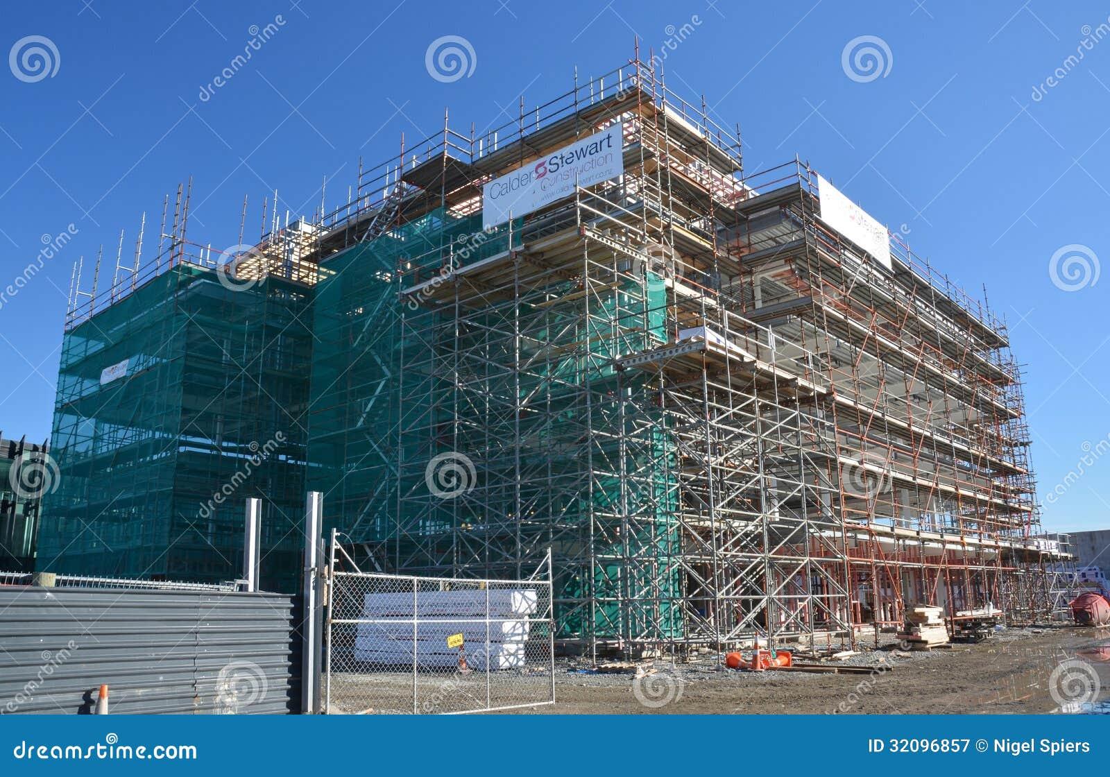 Christchurch Video Detail: Lincoln Road New Office Block Detail, Christchurch Rebuild