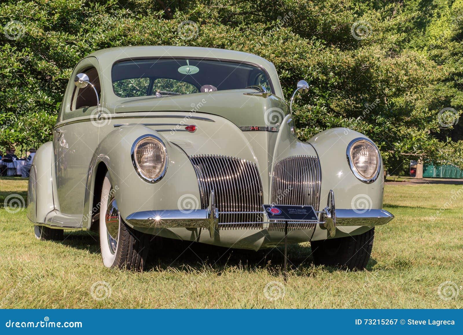 Lincoln Zephyr 1939 V12 Fotografia Editorial Imagem De Mobilidade