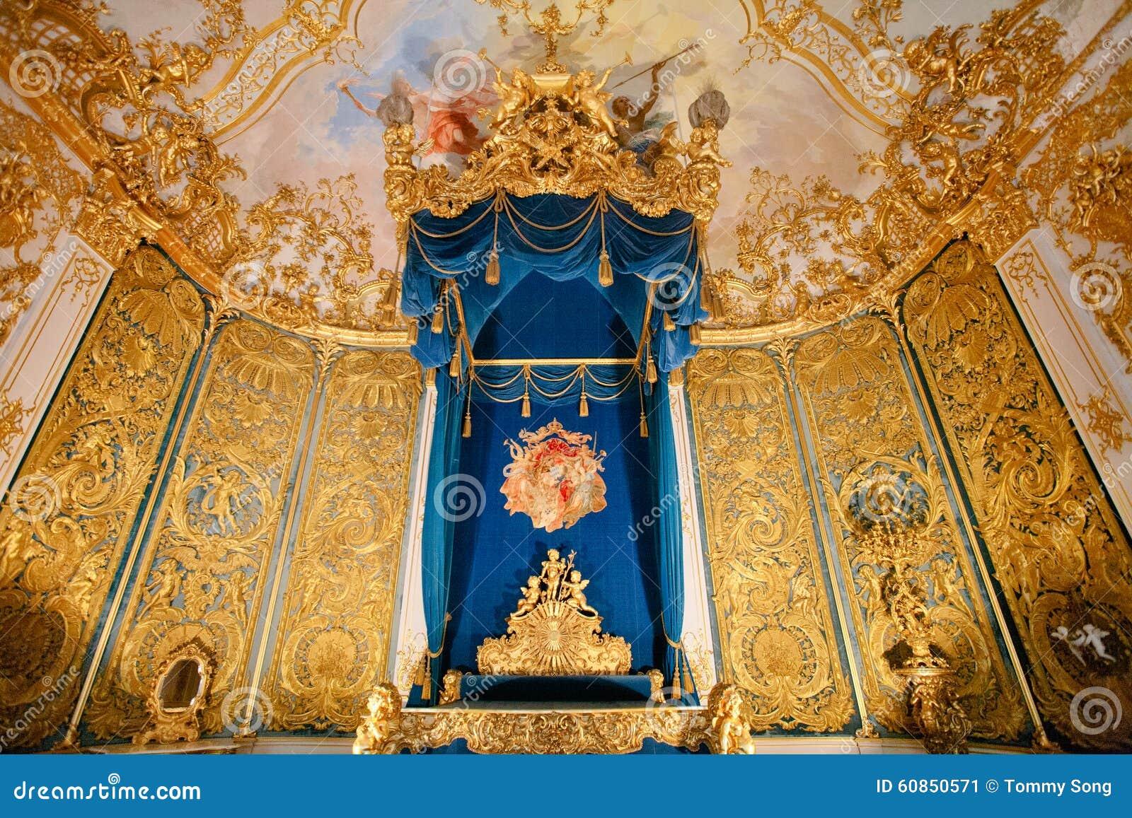 Linderhof palace bedchamber