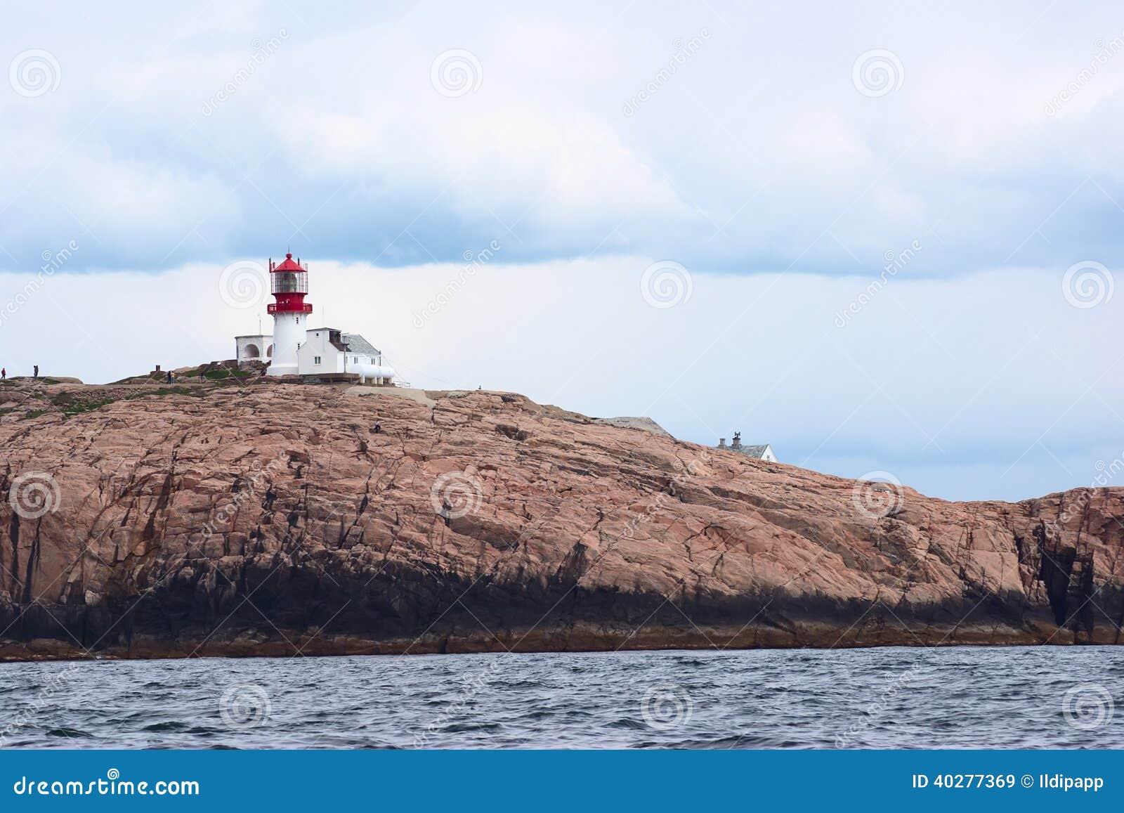 Lindesnes Fyr (маяк) в Норвегии
