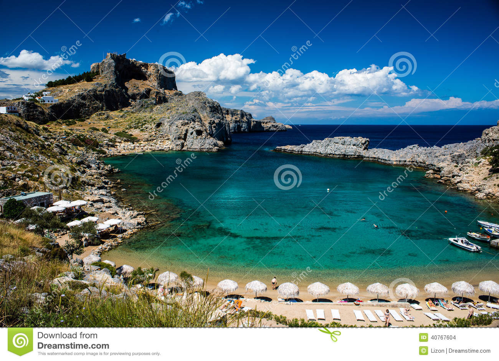 Blue Bay Beach Rhodes