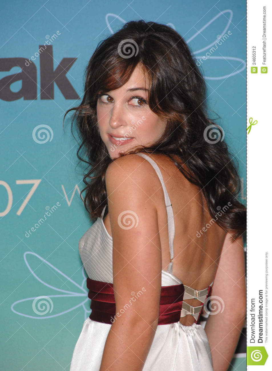 Lindsay Sloane Lindsay sloane at the women in film 2007 crystal + lucy ... Sabrina The Teenage Witch