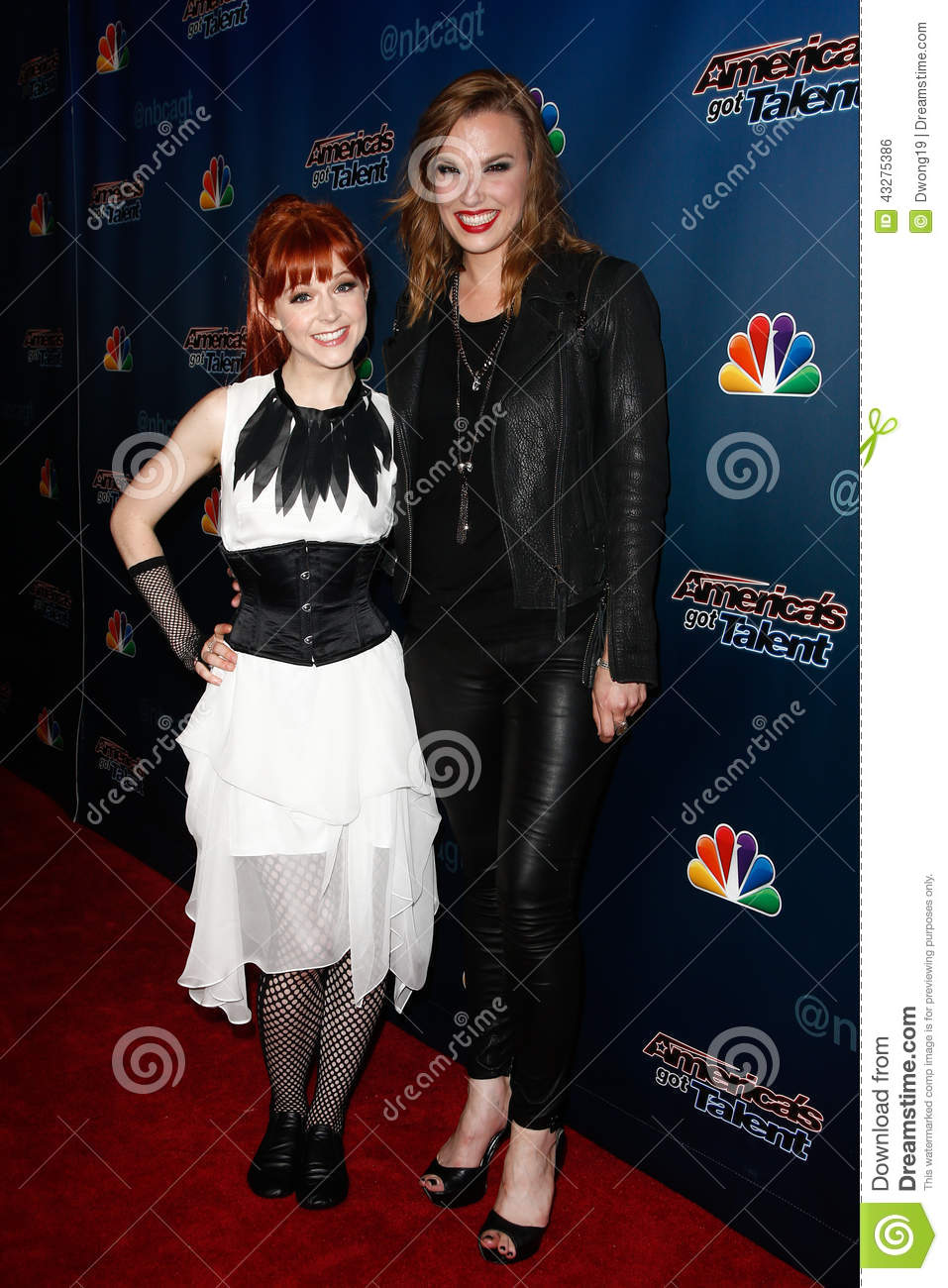Lindsey Stirling Lzzy Hale Editorial Photo Image 43275386