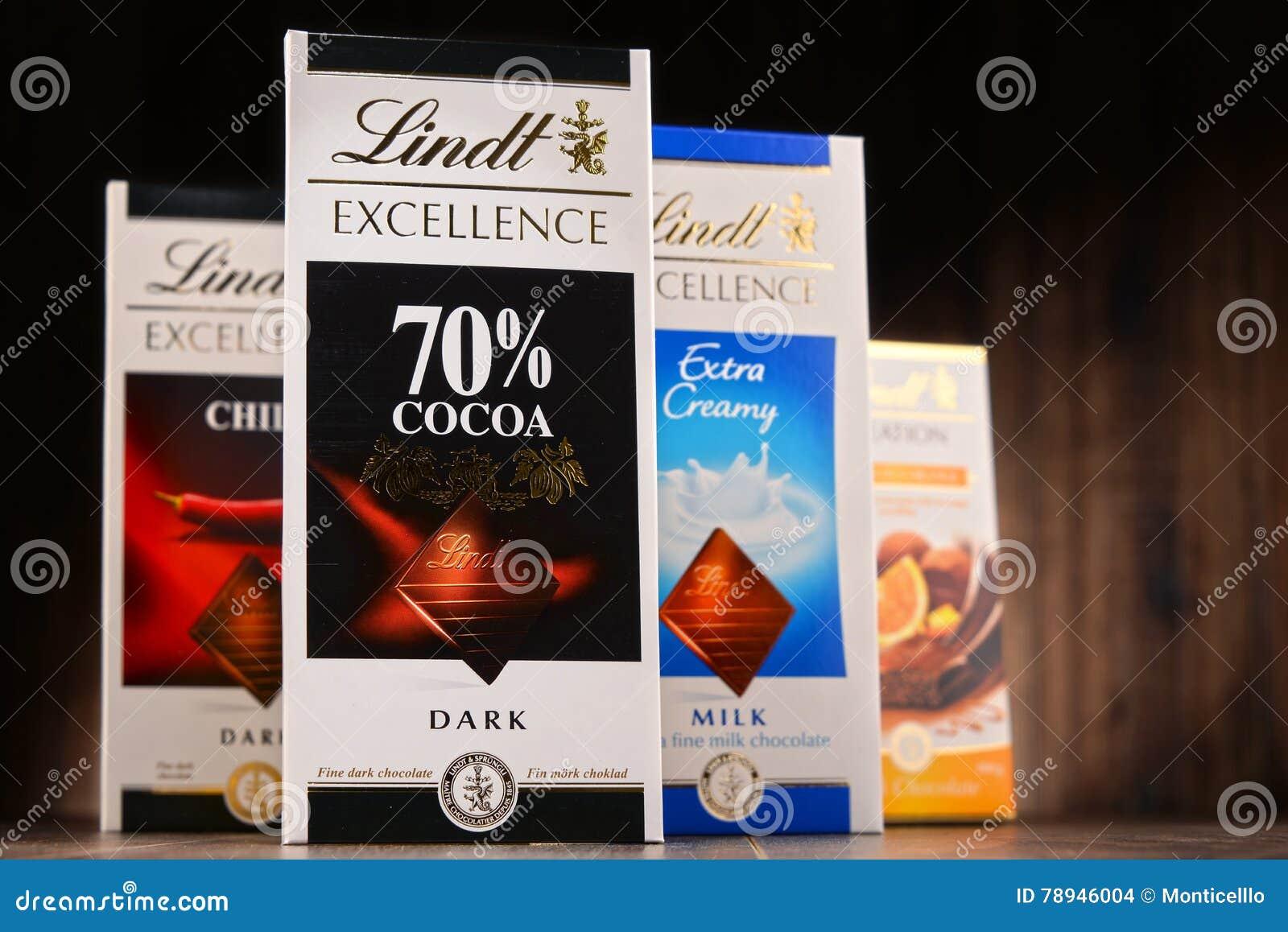lindt choklad smaker