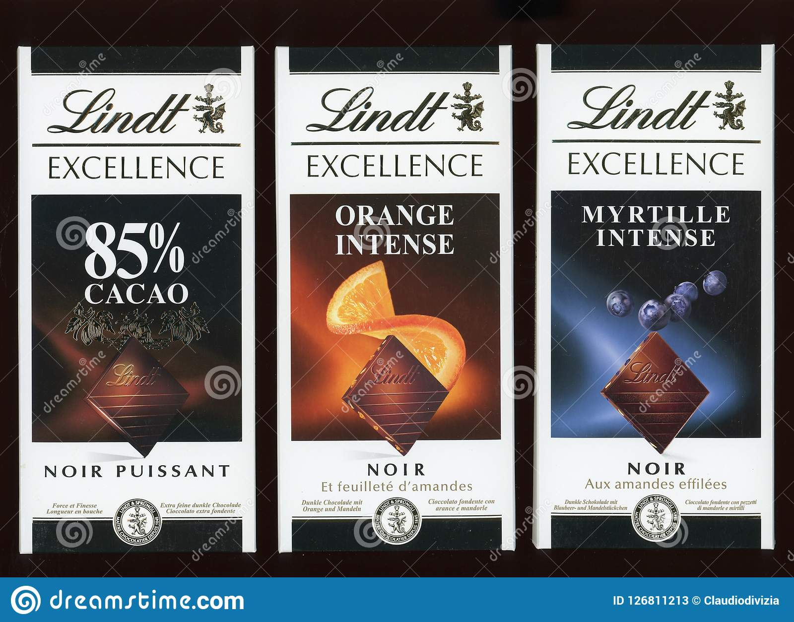 Lindt donkere chocolade