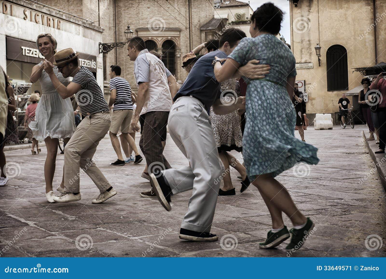 Lindy Hop Flash Mob