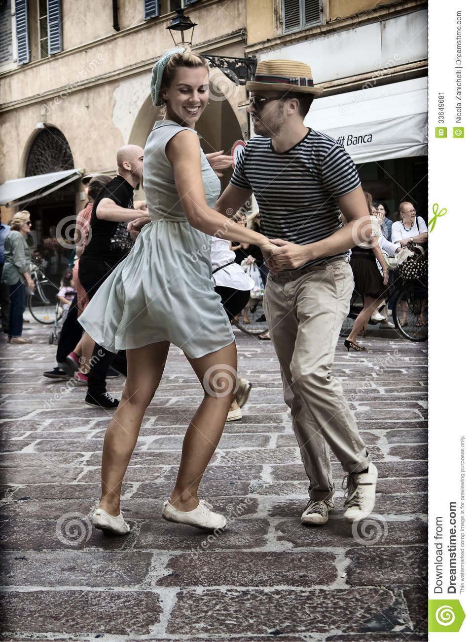 Lindy Hop Flash Mob