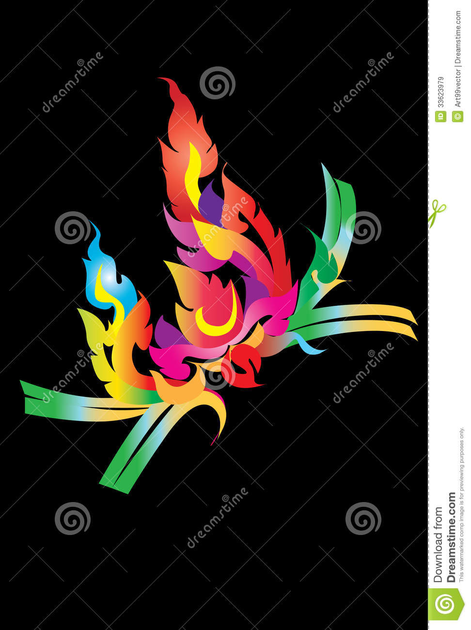 Thai Design Wallpaper : Line applictions royalty free stock images image