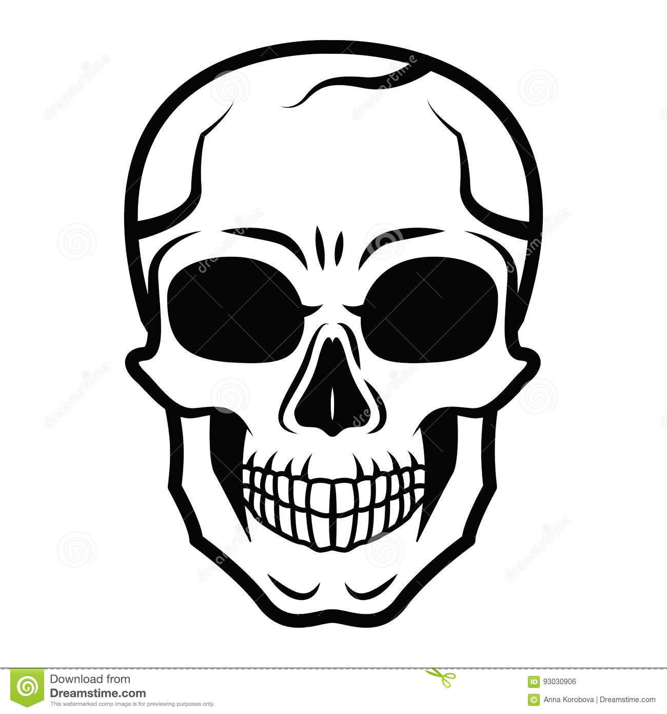 It's just a graphic of Priceless Skull Drawing Black And White