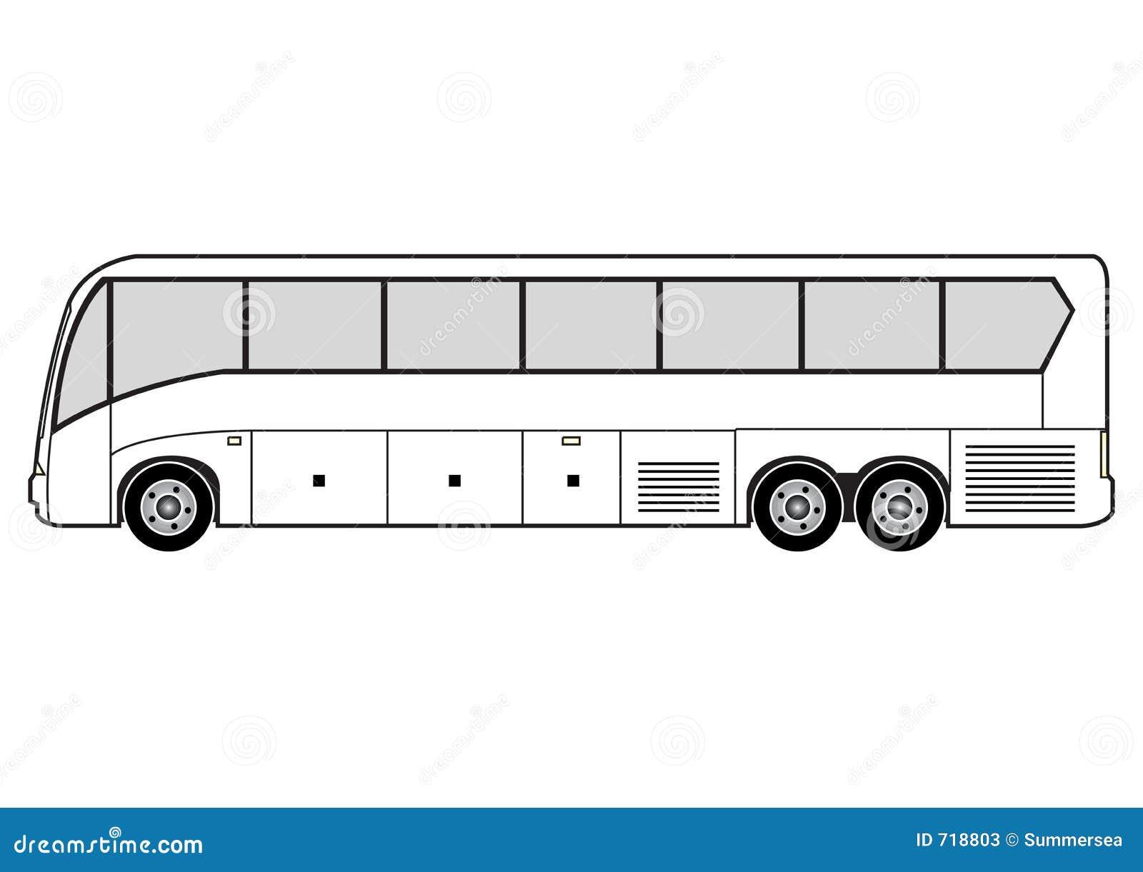 Line Drawing Bus : Line art bus stock photos image
