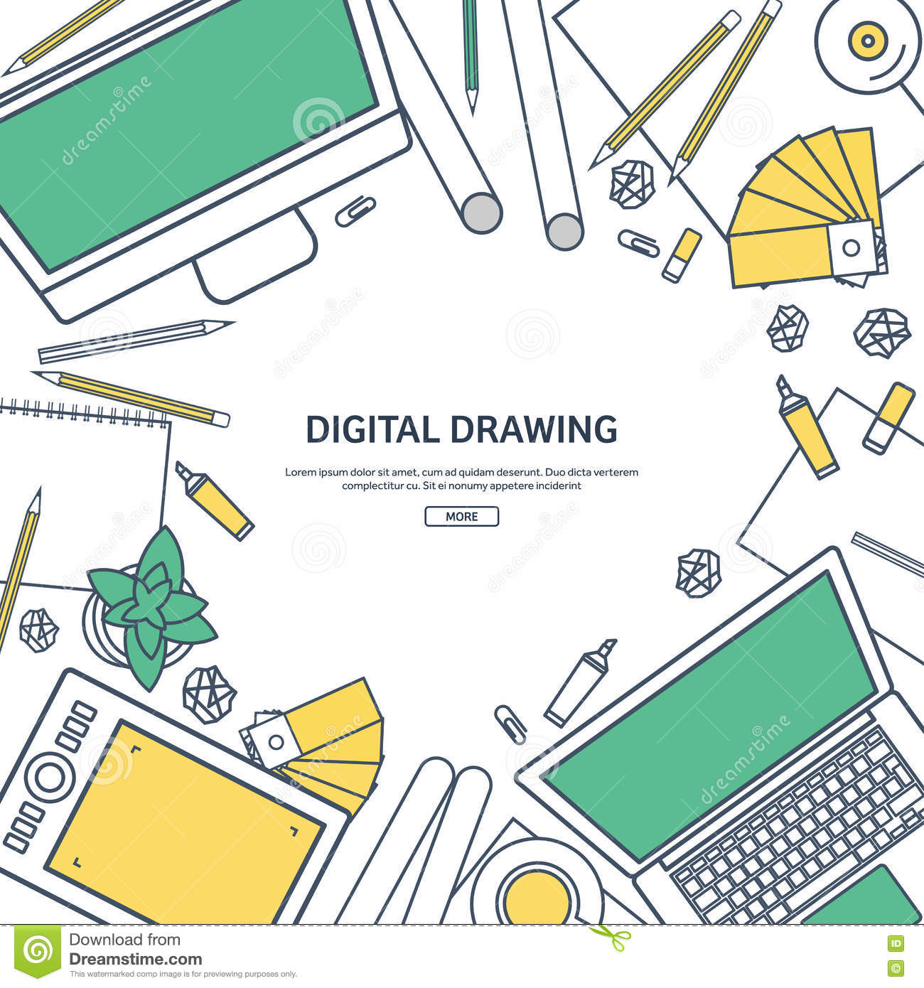 Line Art Website : Line art graphic web design drawing and painting