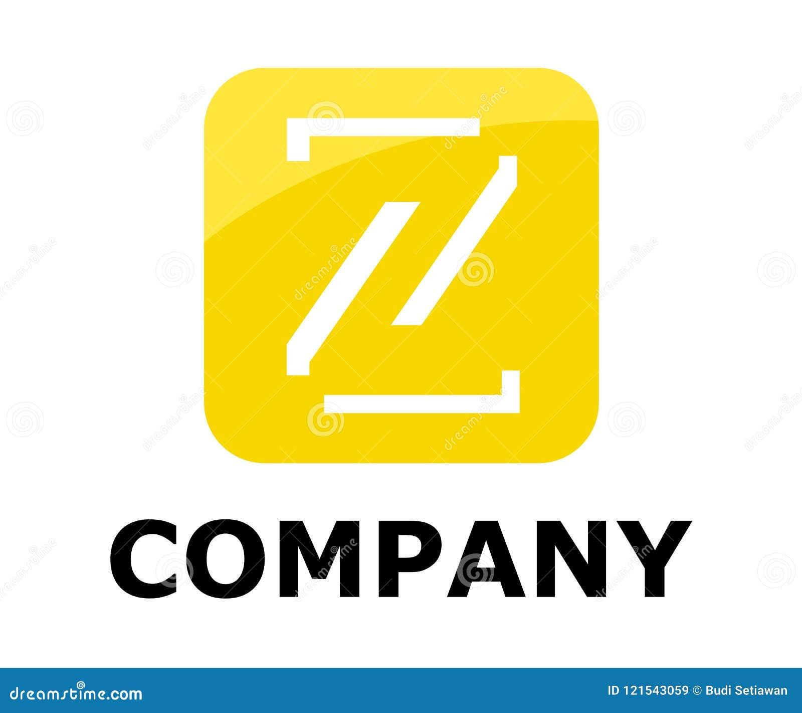 Line in box logo z stock vector illustration of font 121543059 download comp spiritdancerdesigns Image collections