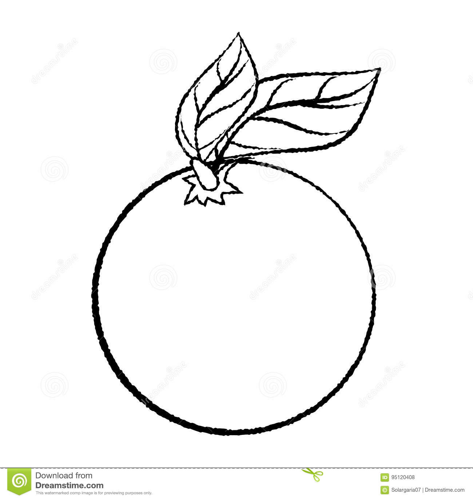 Orange drawing images
