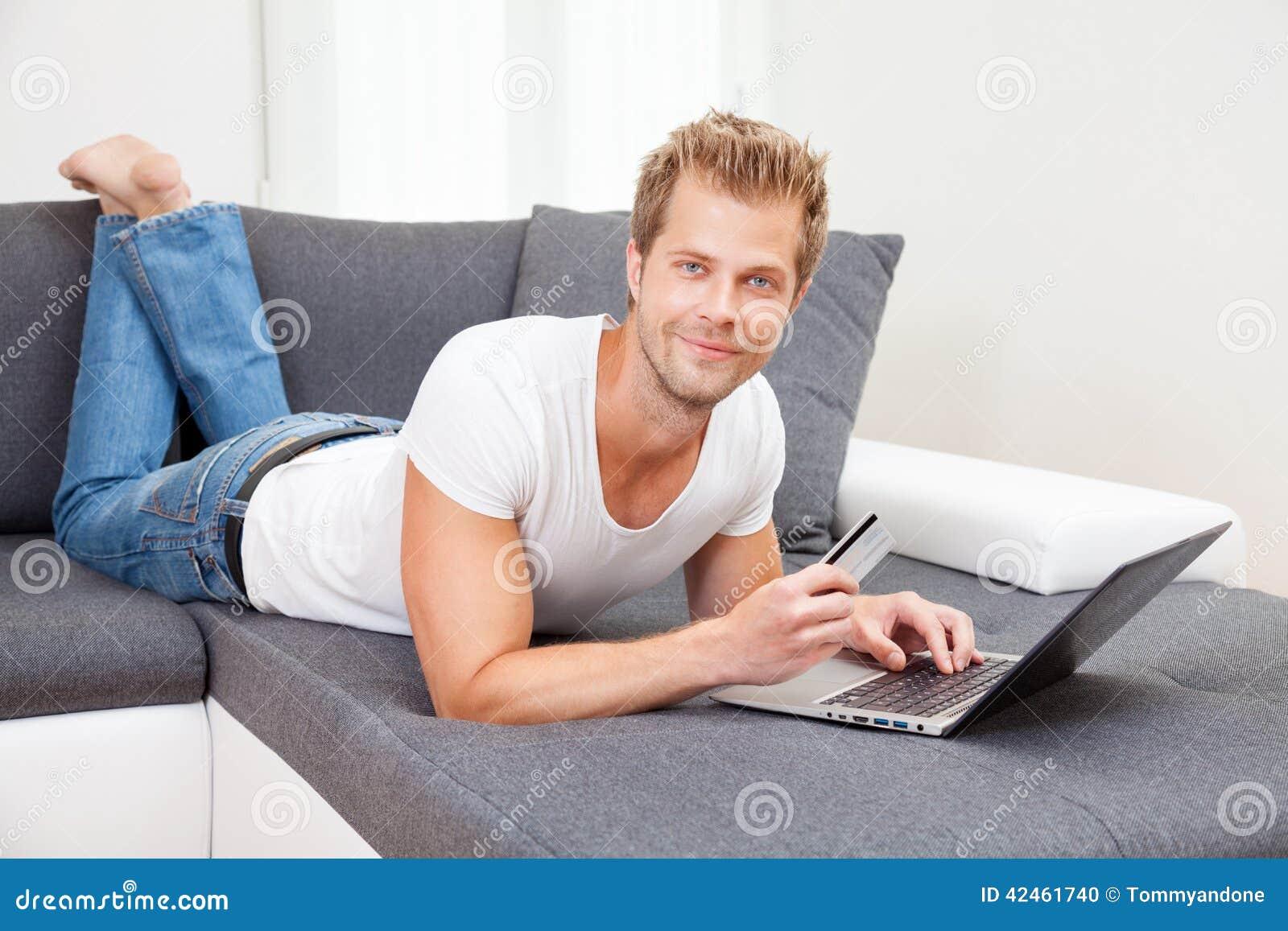 On-line-Einkaufen vom Komfort Ihres Hauses