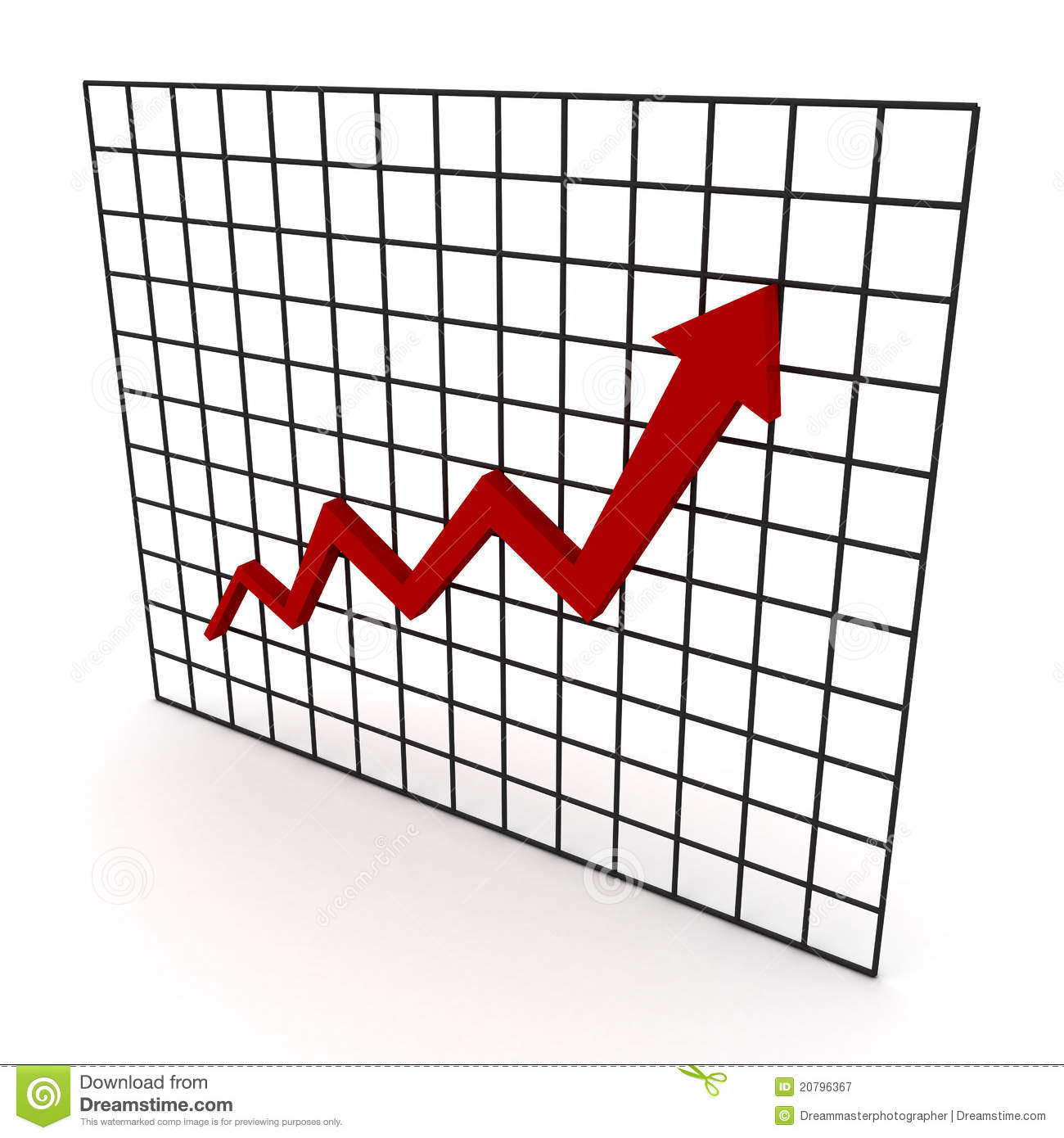 Line Graph Royalty Free Stock Photography Image 20796367