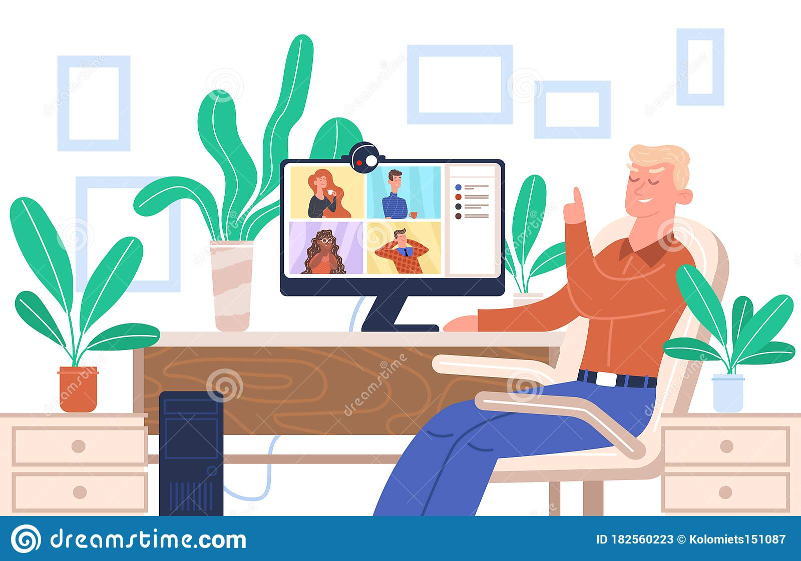 online treffen freunde zoom