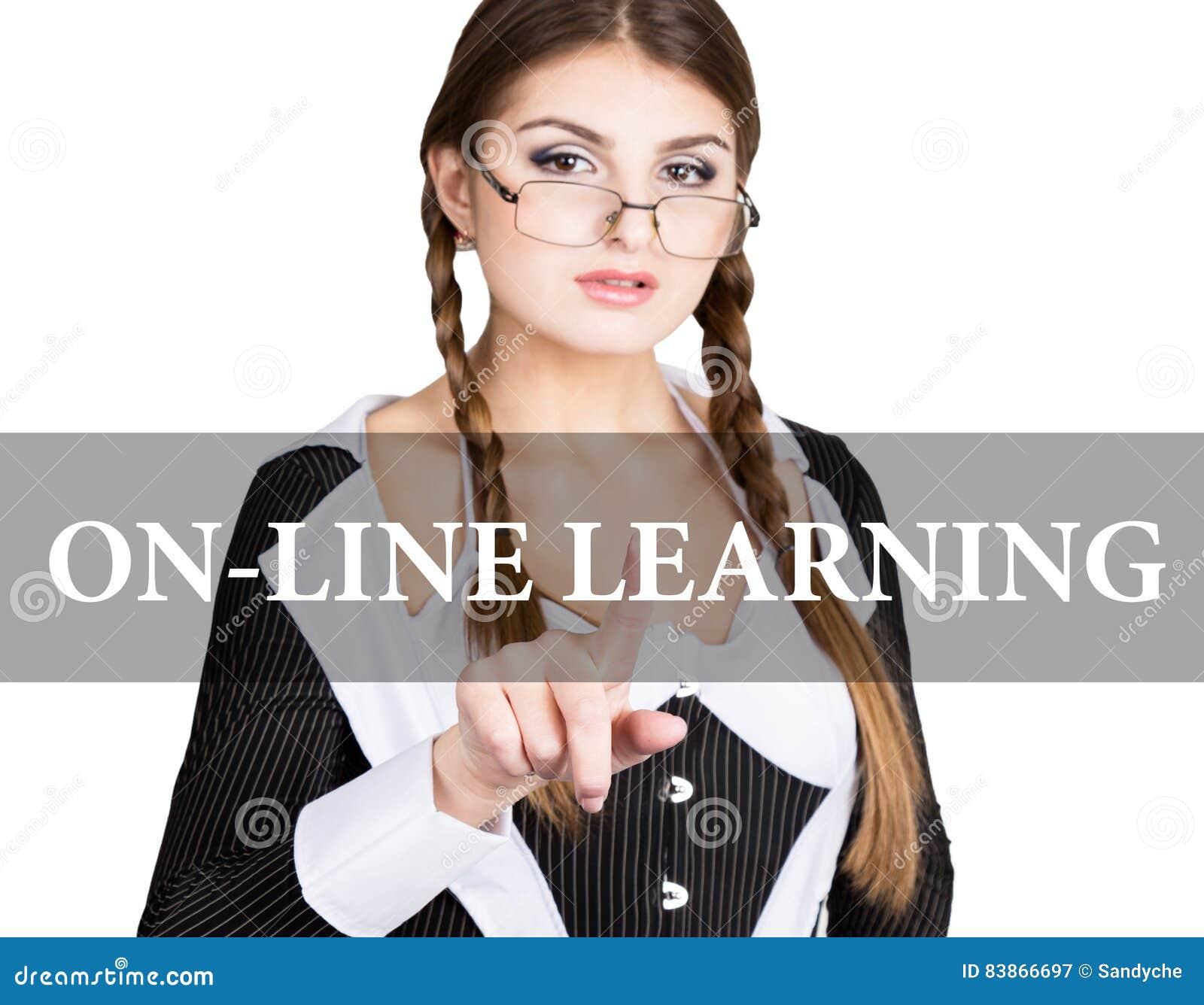 On Line Learning Written On Virtual Screen Secretary In A