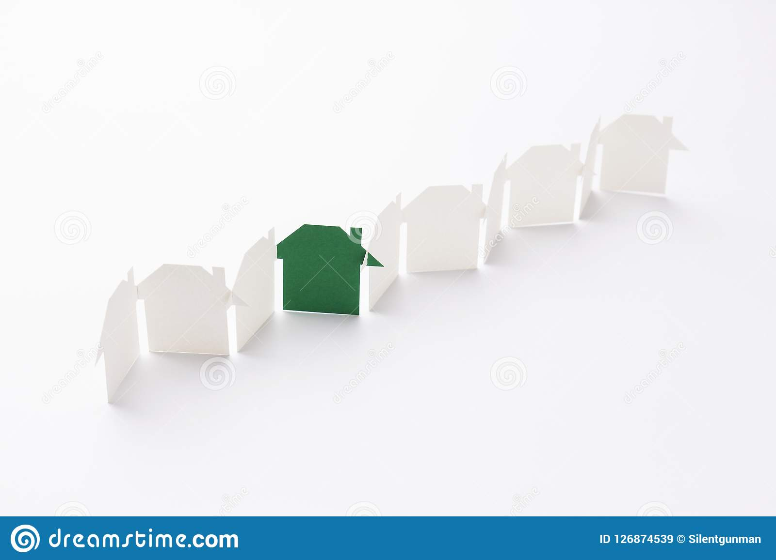 Green in unity house stock image  Image of business - 126874539