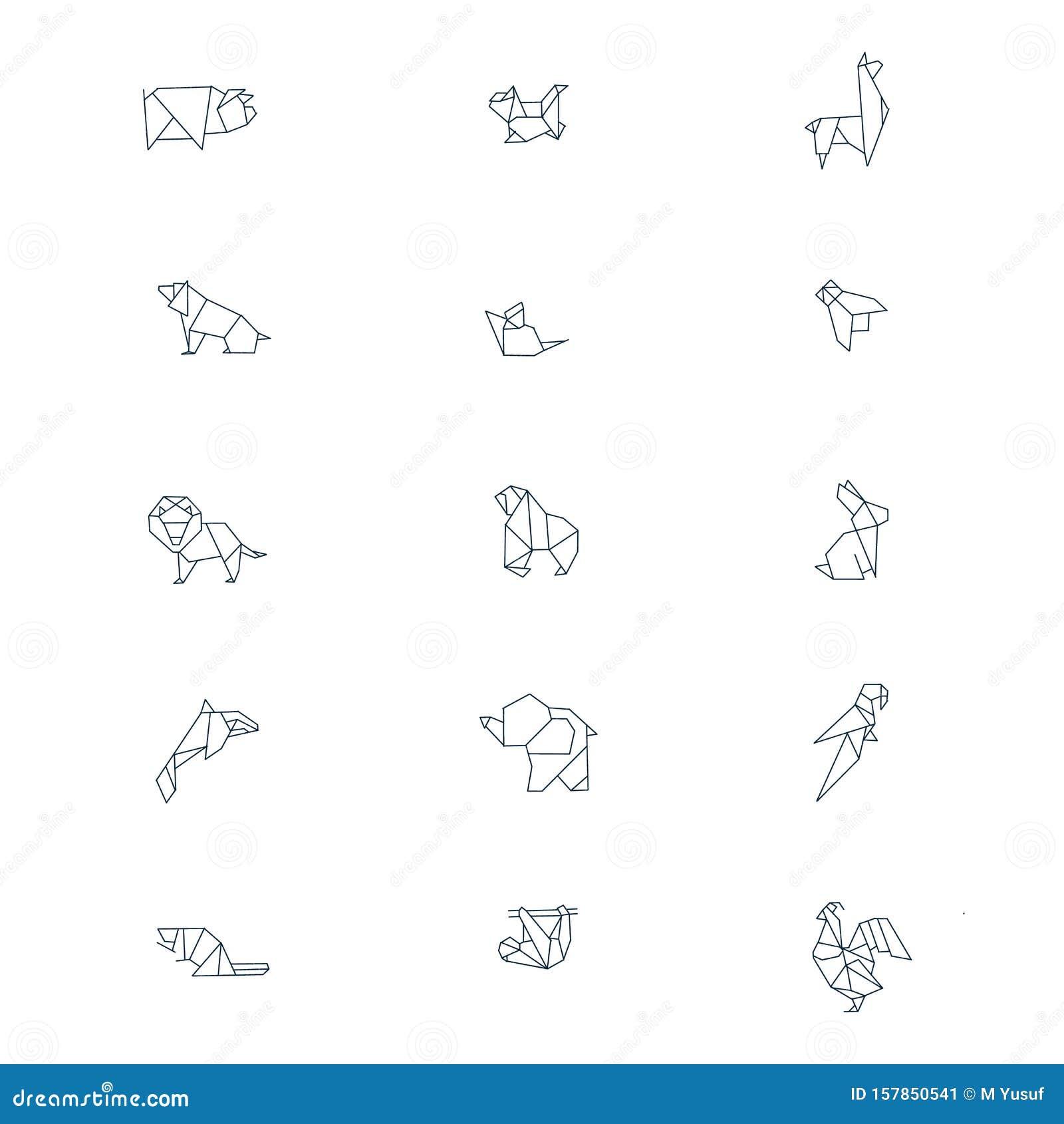 Origami Kangaroo Tutorial - YouTube | 1689x1600