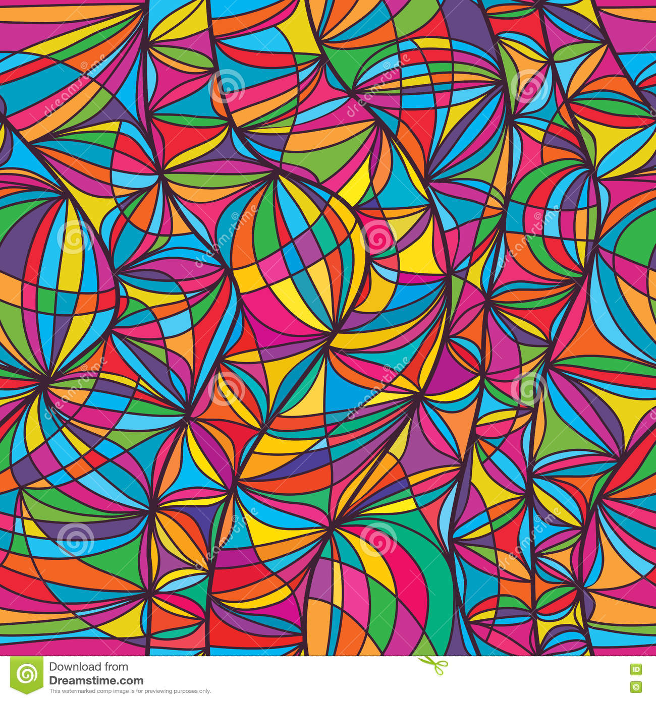 Drawing Vertical Lines In Html : Seamless line pattern vector illustration cartoondealer