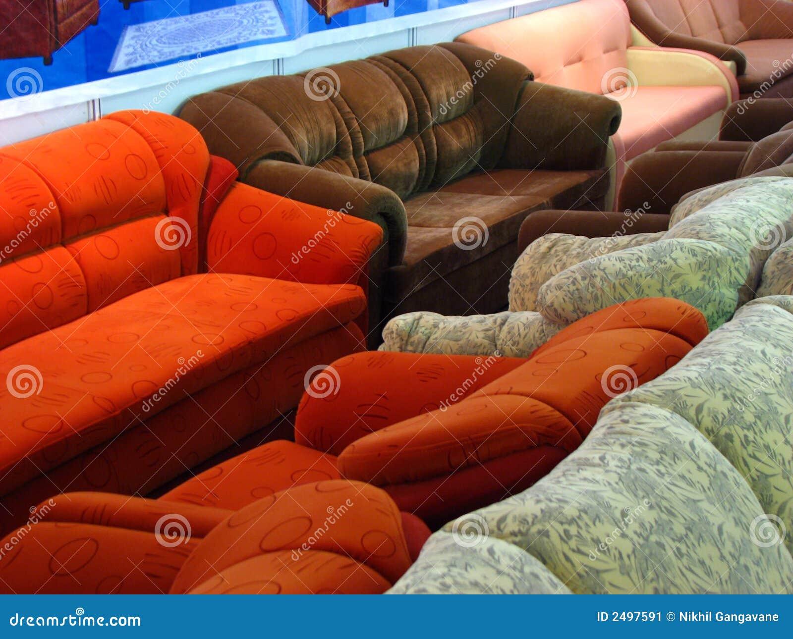 Line of Sofas