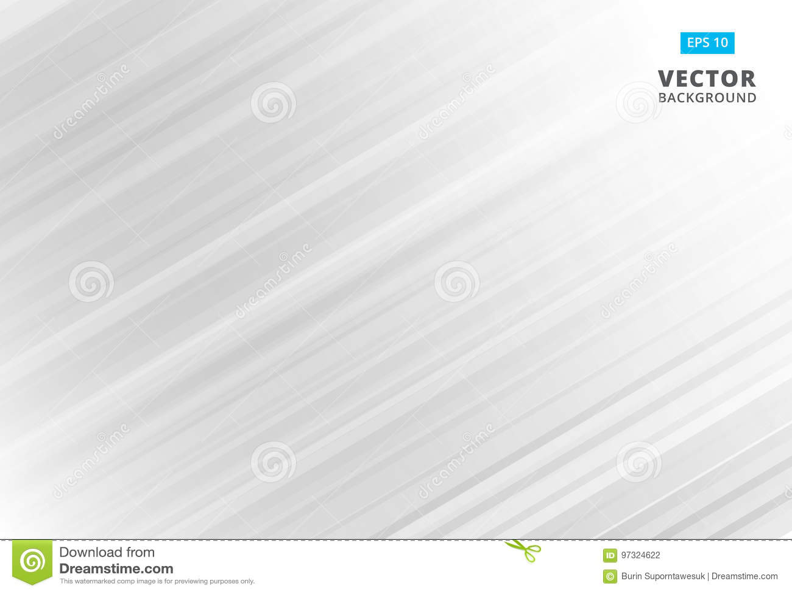 Linea astratta fondo bianco e grigio del modello con le bande La VE