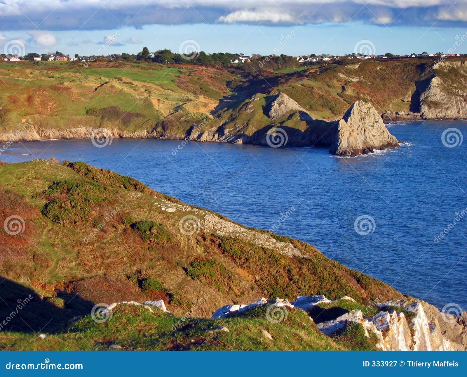 Linea costiera di Galles del sud