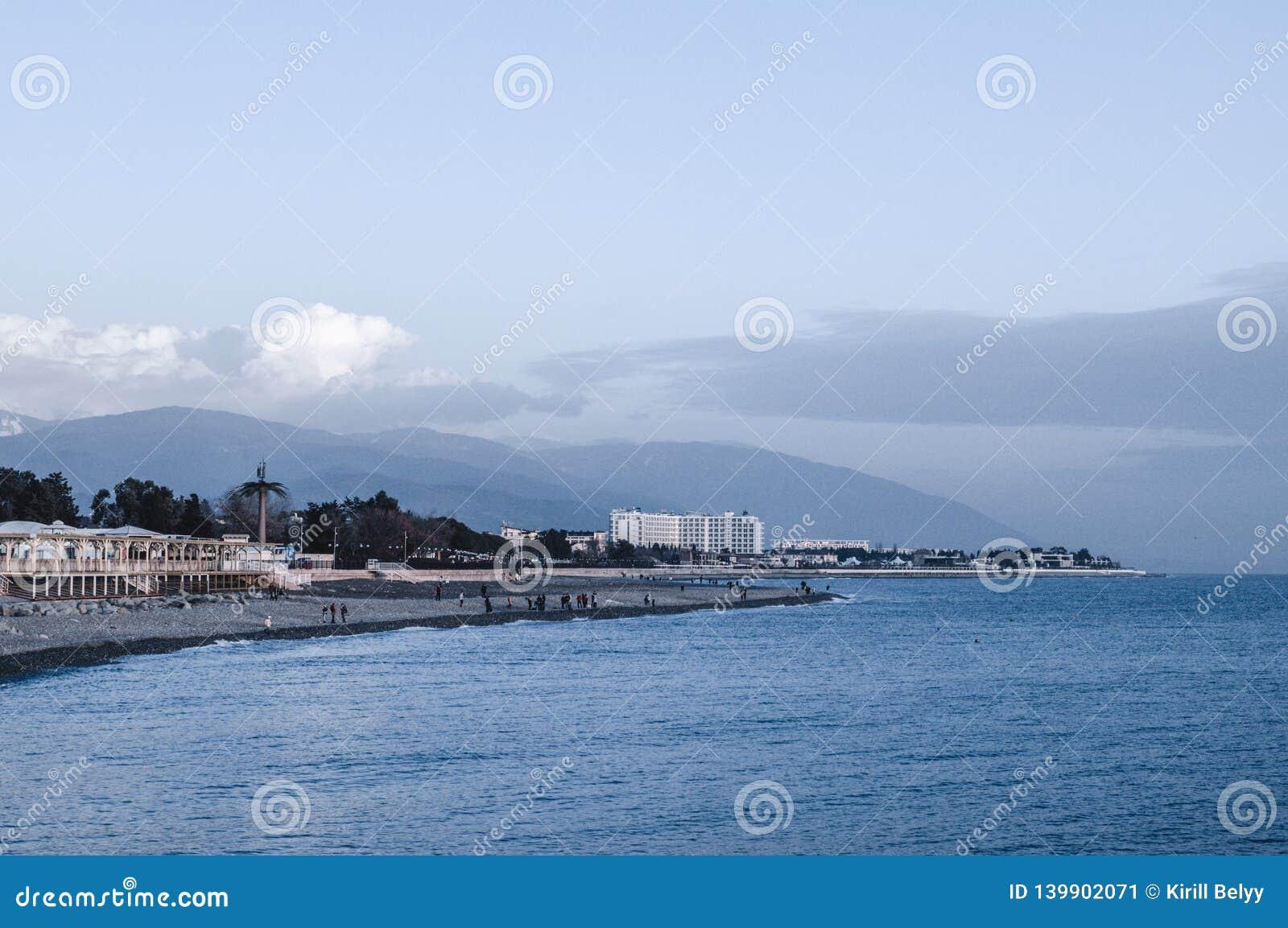 Linea costiera lungo il Mar Nero