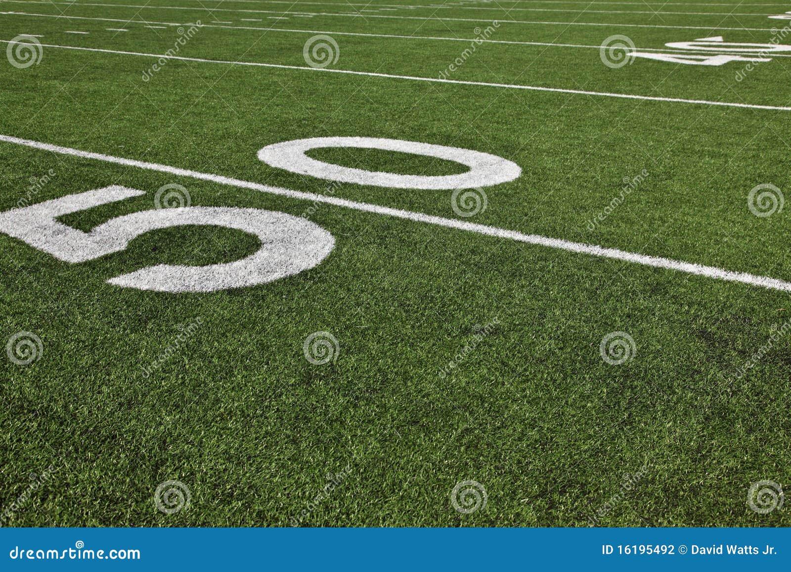 Linea delle yard cinquanta
