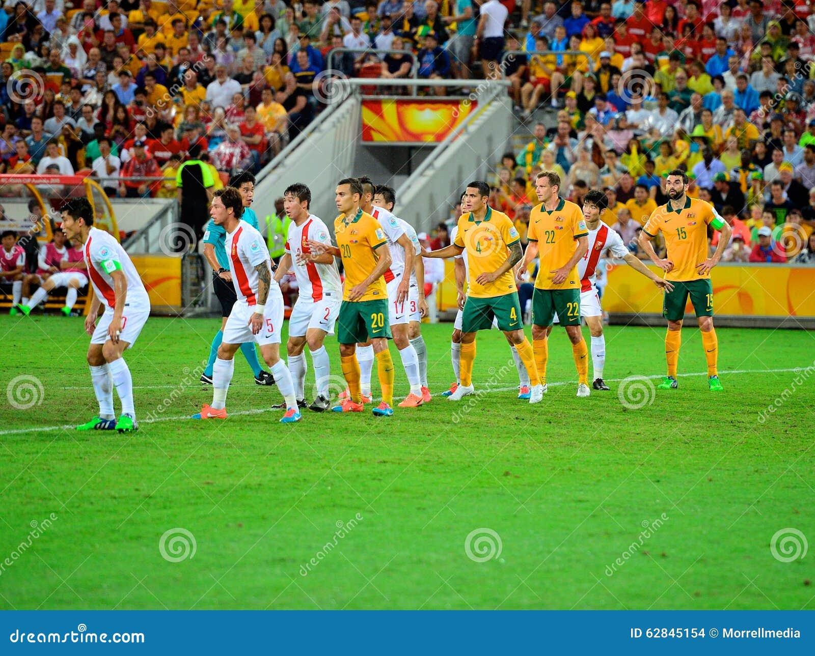 Linea di Team Defensive di calcio della Cina