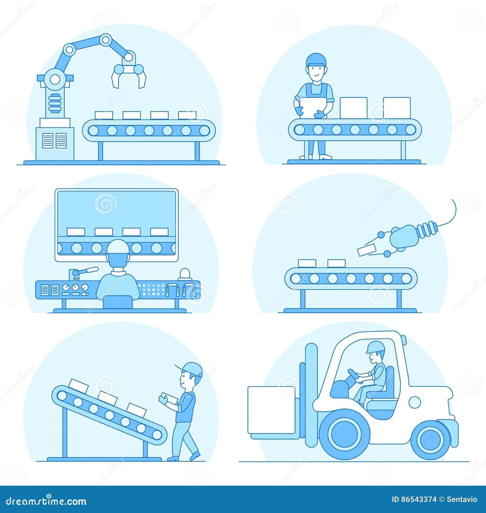Lineair Vlak MAC van de de opslagopslag van de vervaardigingstransportband