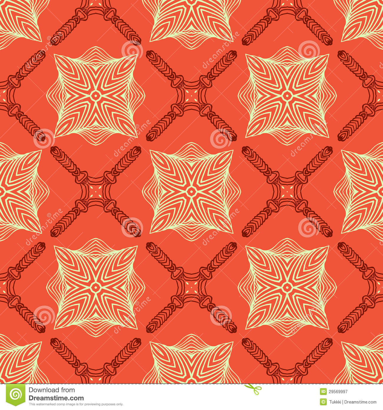 Linear Elegant Pattern With Medieval Look. Stock Vector ...