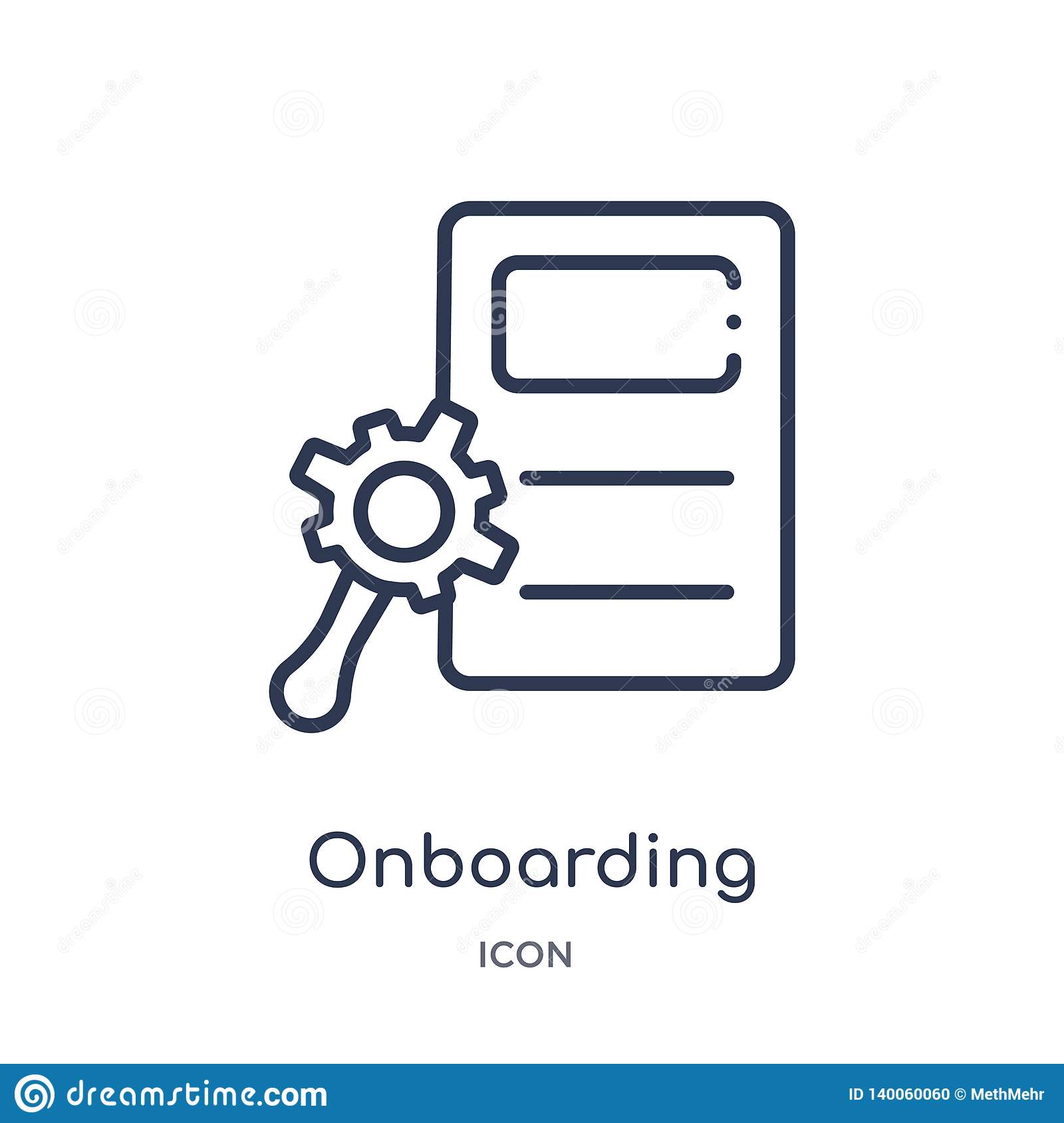 Business Onboarding Concept Hr Manager Hiring Employee Or
