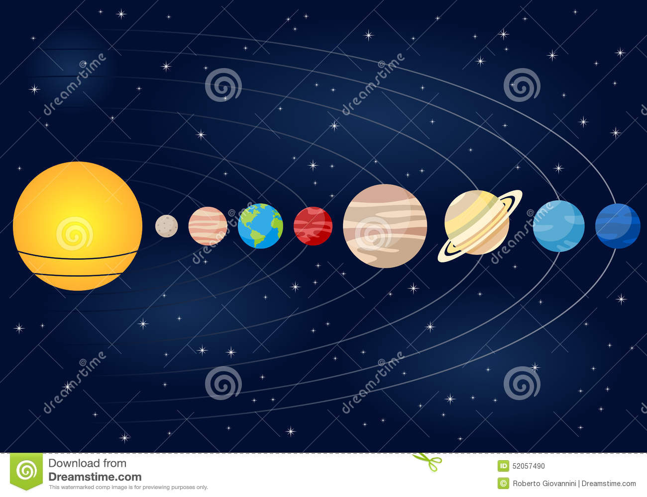 planets and outer space diagram - photo #25