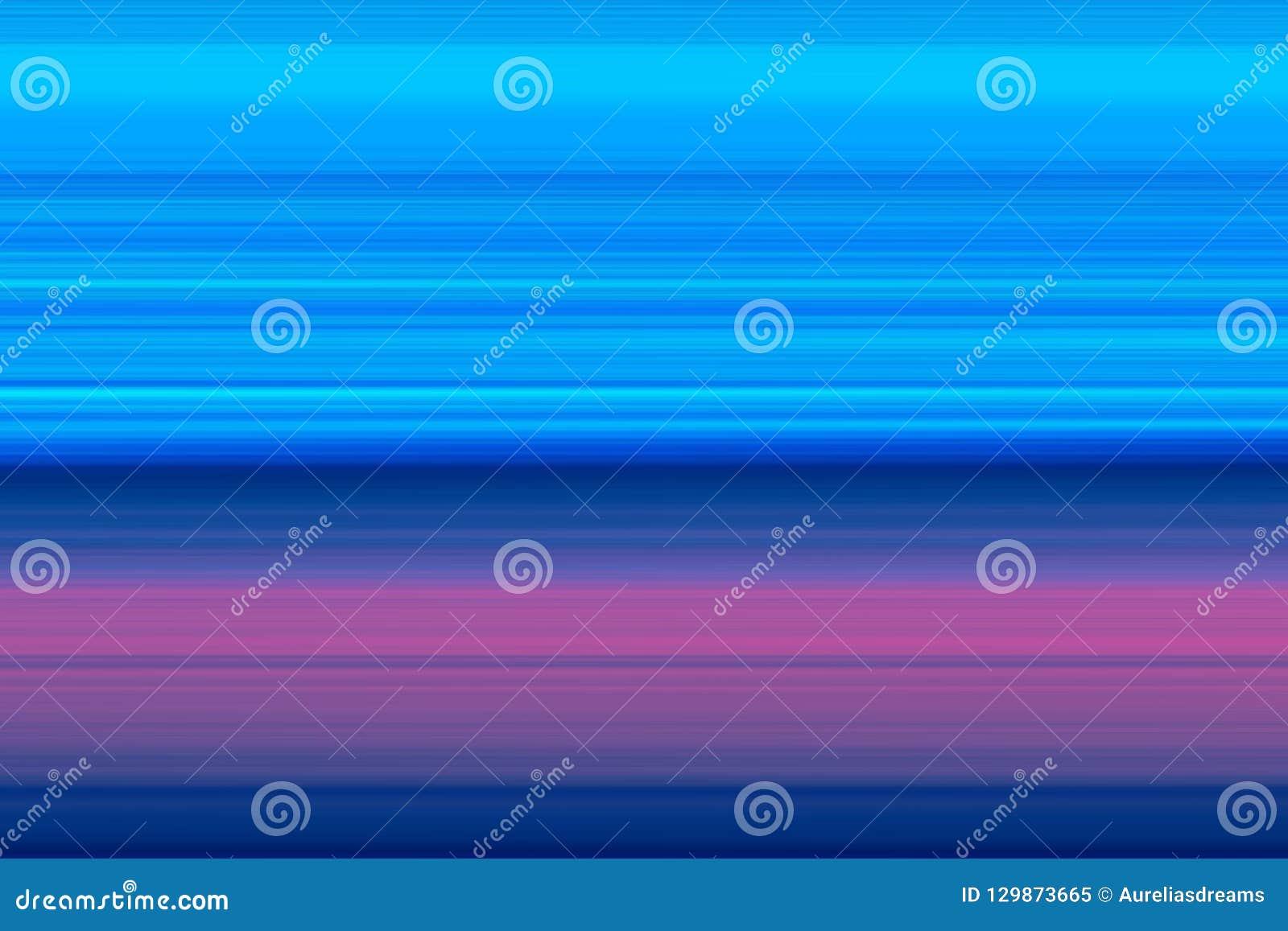 Lineas horizontales brillantes fondo, textura del extracto olorful del ¡de Ð en tonos azules