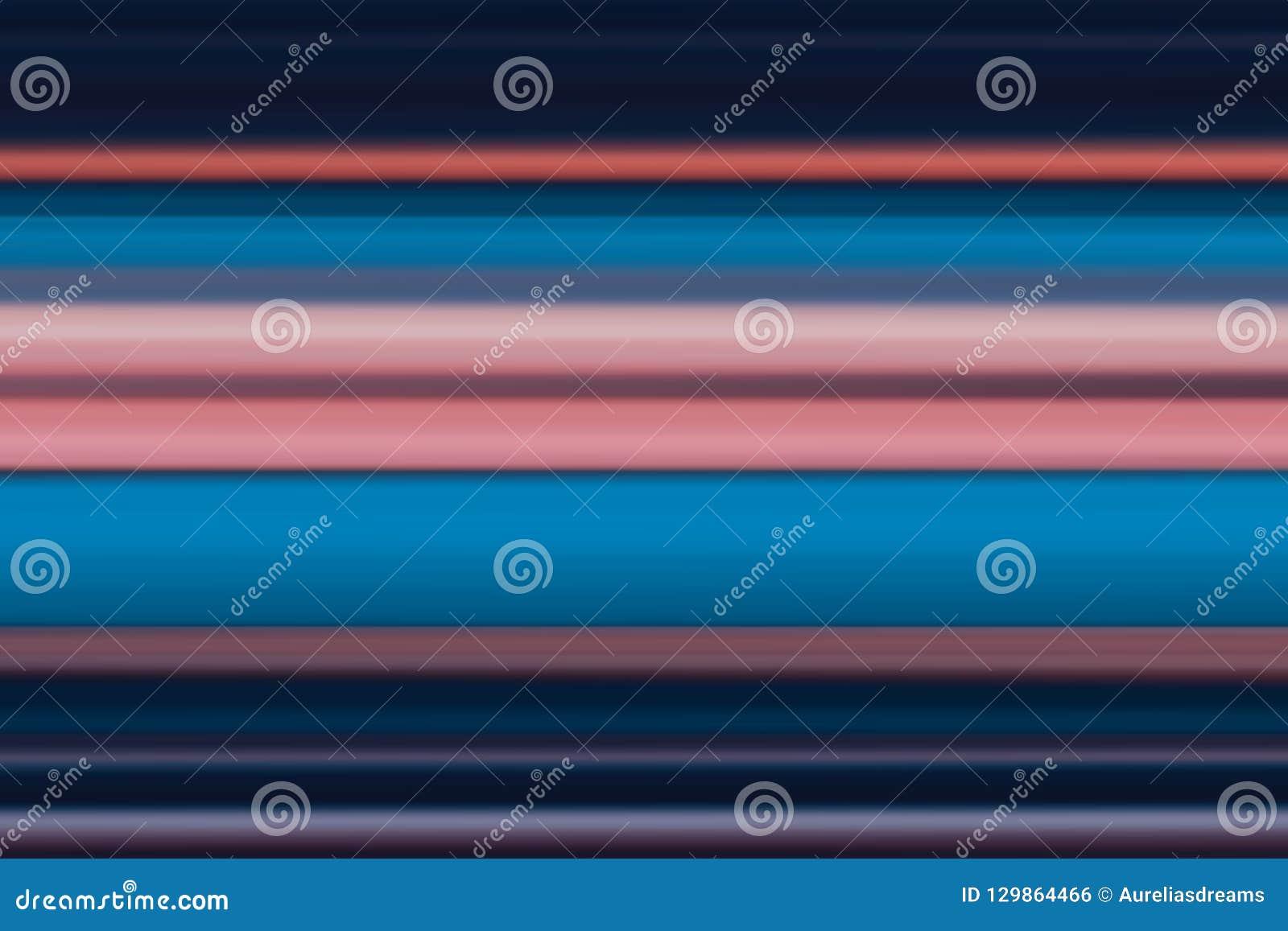 Lineas horizontales brillantes fondo, textura del extracto olorful del ¡de Ð en tonos azules y rosados