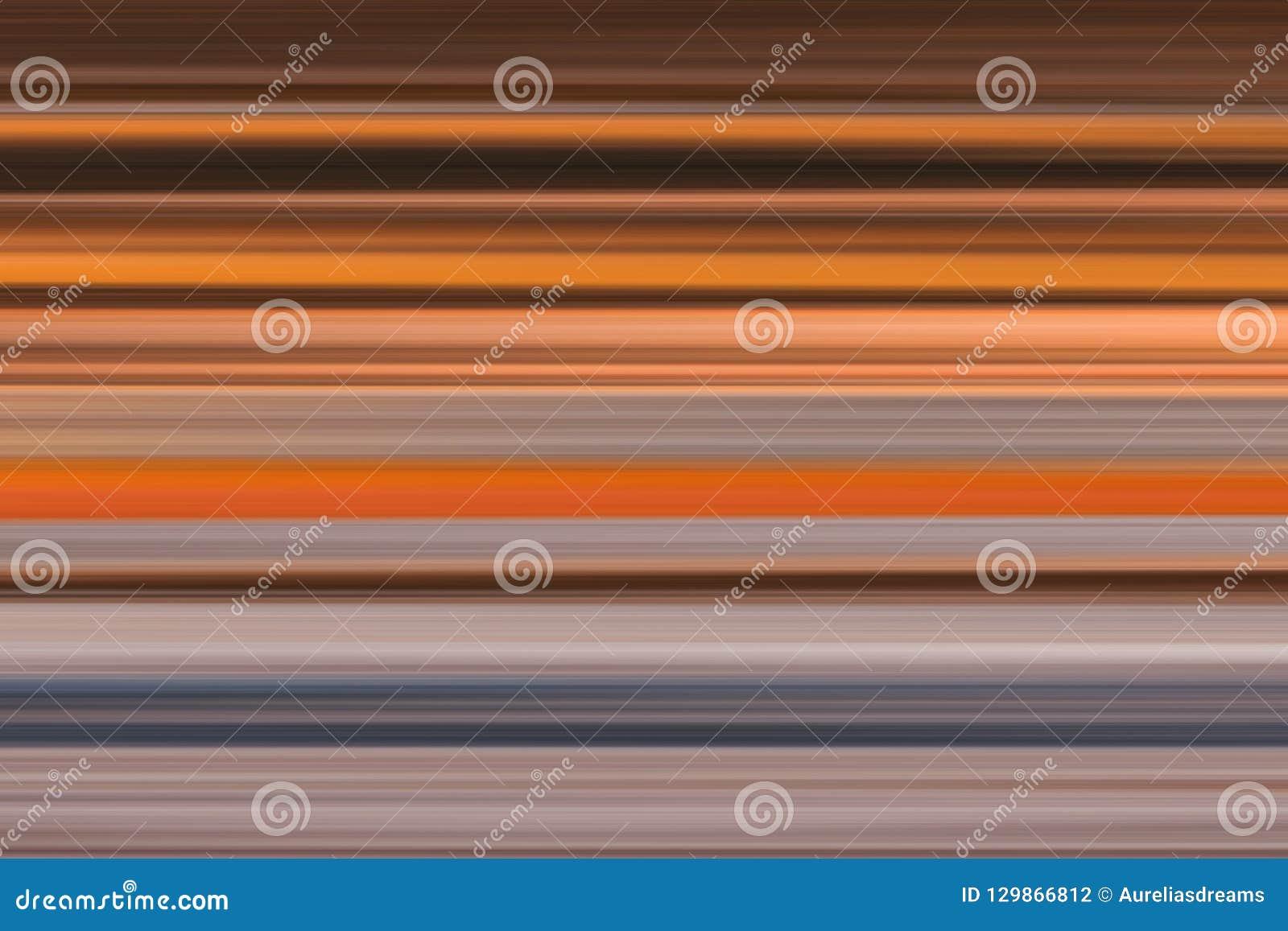 Lineas horizontales brillantes fondo, textura del extracto olorful del ¡de Ð en tonos marrones