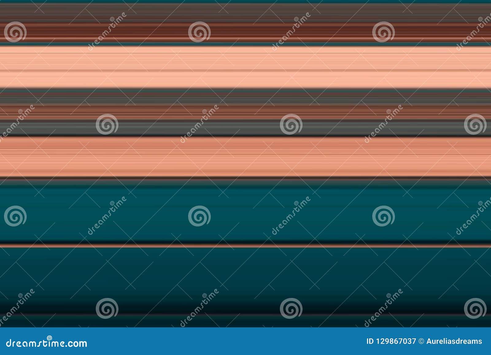 Lineas horizontales brillantes fondo, textura del extracto olorful del ¡de Ð en tonos marrones y azules
