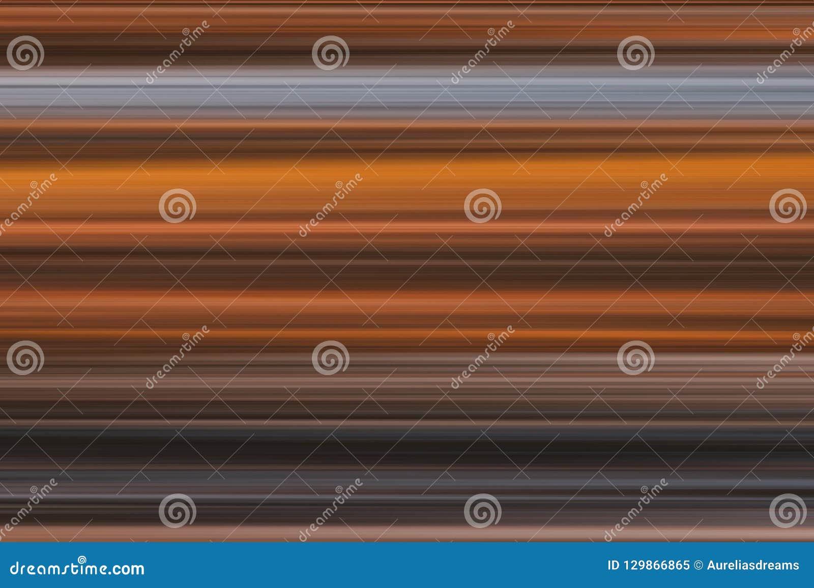 Lineas horizontales brillantes fondo, textura del extracto olorful del ¡de Ð en tonos marrones y grises