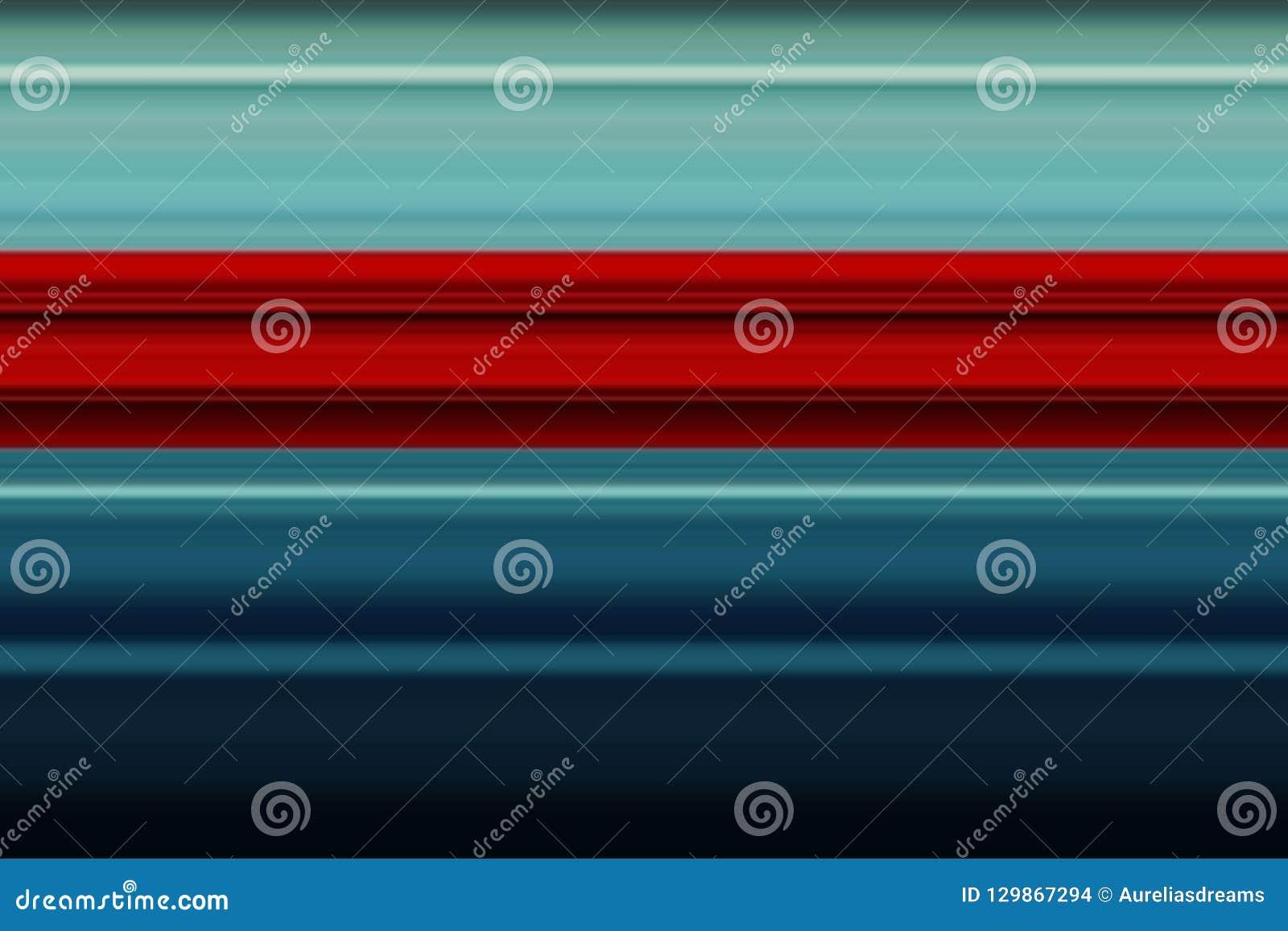 Lineas horizontales brillantes fondo, textura del extracto olorful del ¡de Ð en tonos rojos y azules