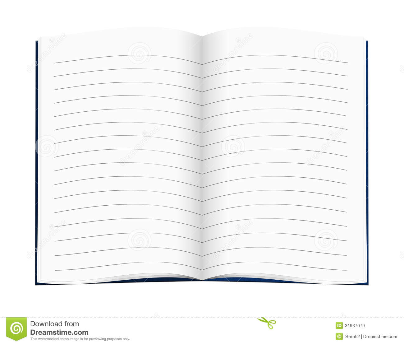 lined blank copy book exercise book school education etc stock