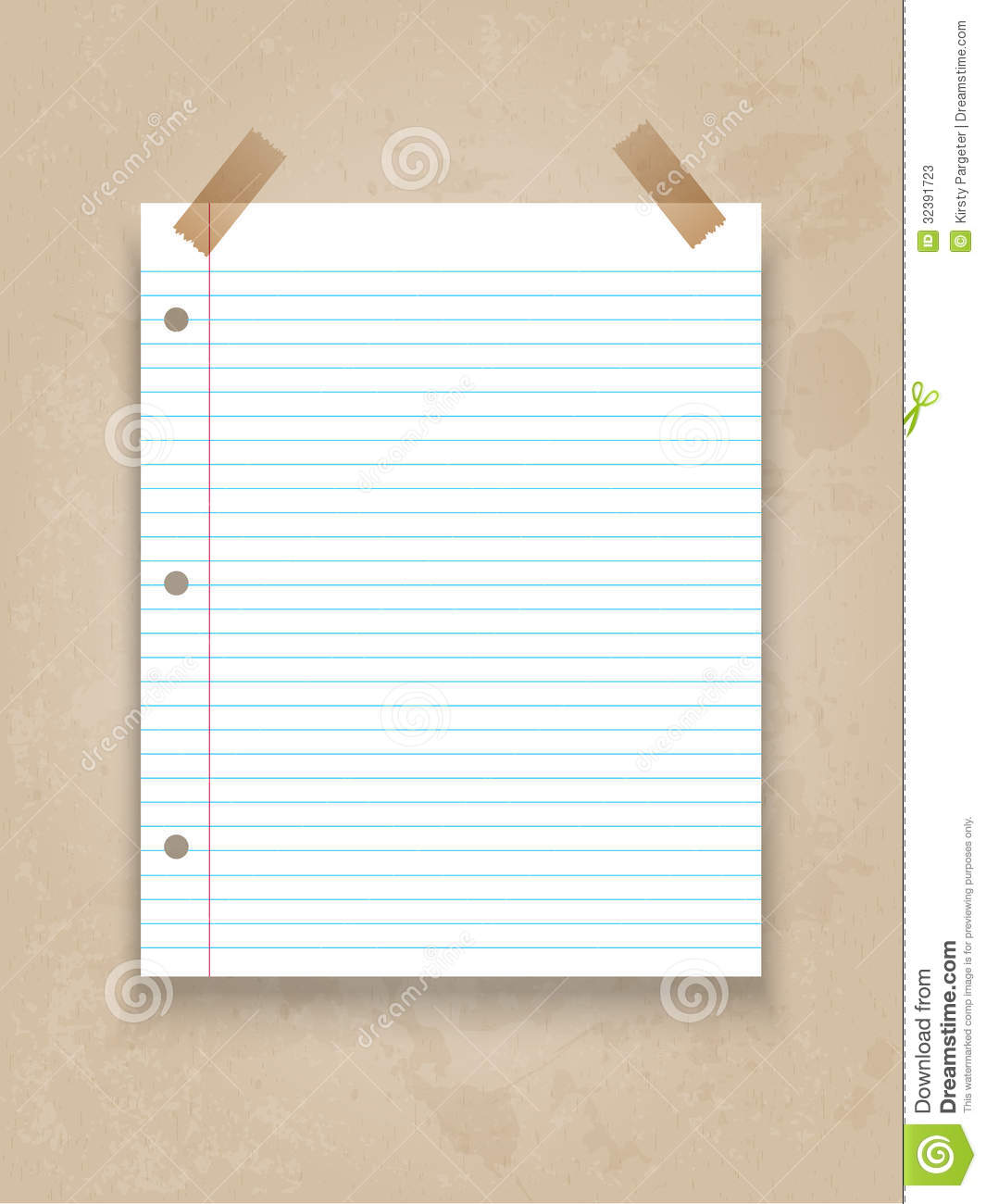 Lined Paper On Grunge Background  Line Paper Background
