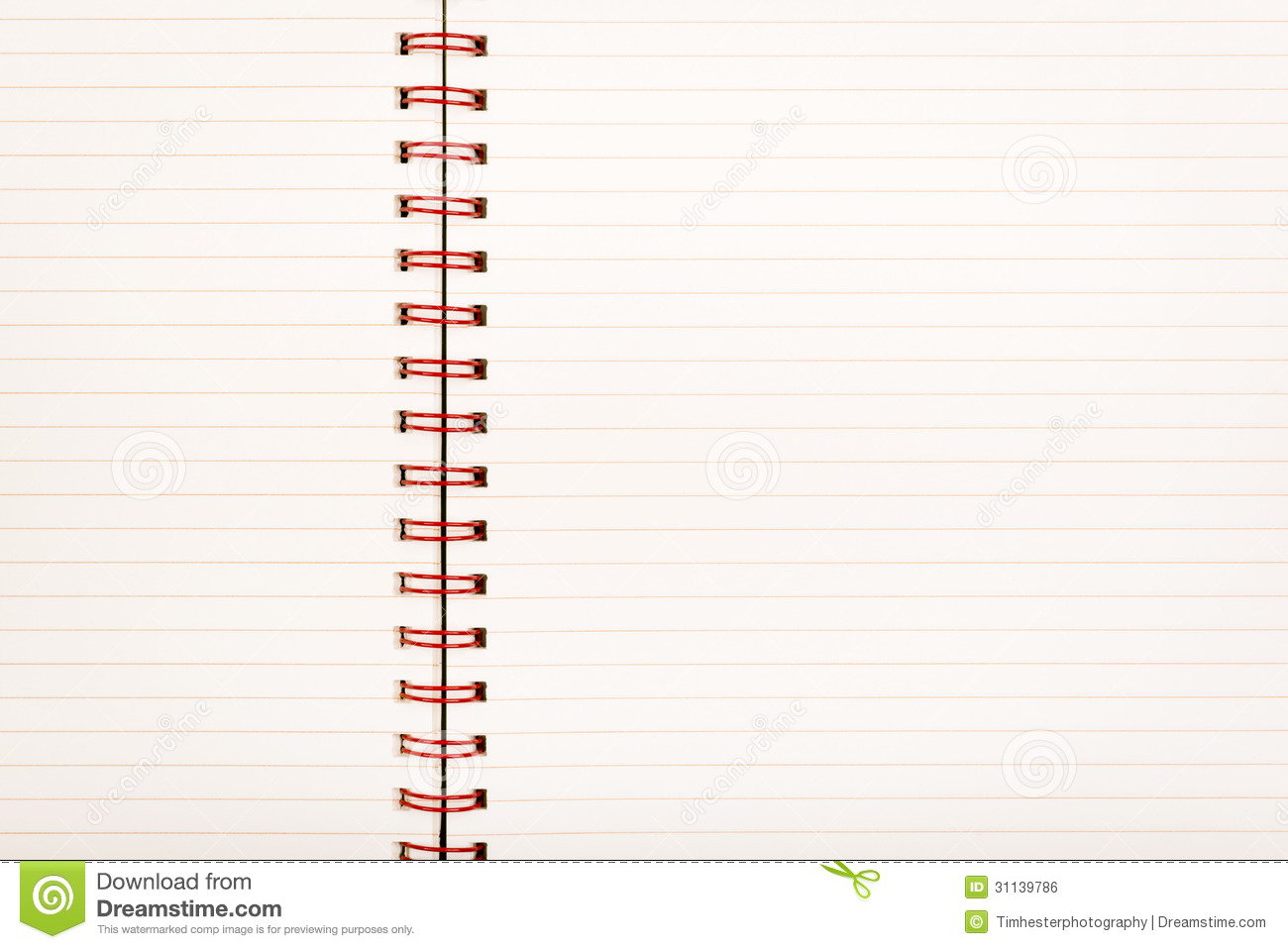 Lined Paper Notebook Royalty Free Image Image 31139786 – Lined Notebook Paper Template