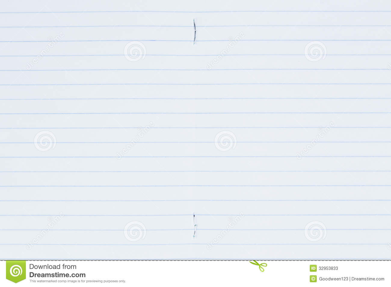 5 by 8 index card template - lined paper page stock image image of notepaper page