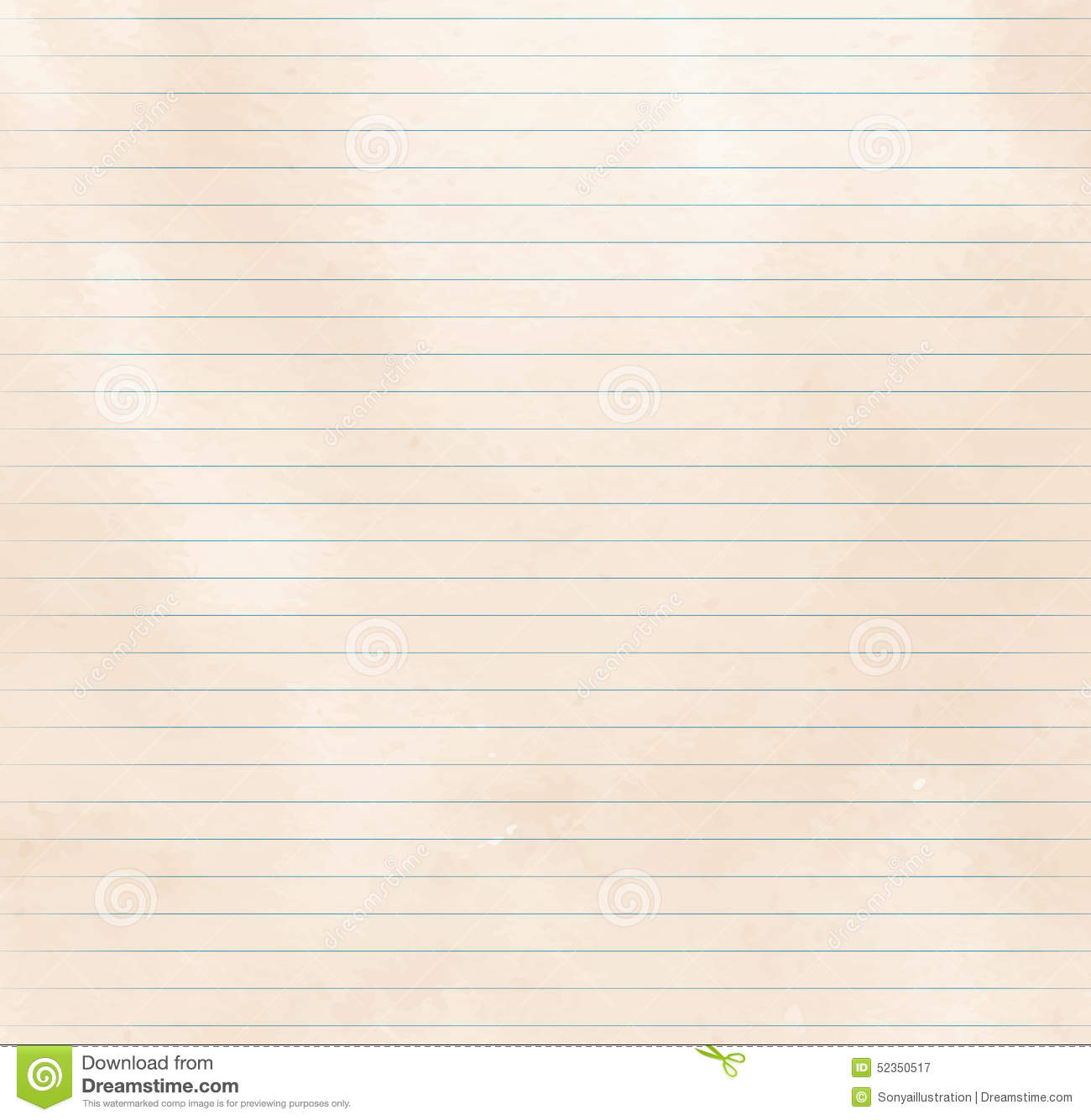 lined paper texture stock vector image 52350517