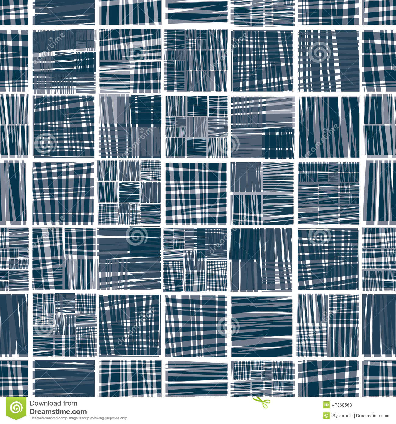Lined textile seamless pattern.