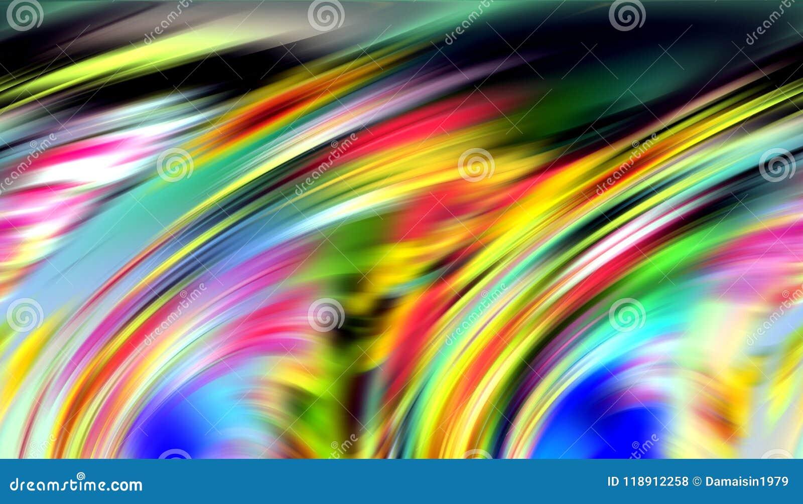 Linee allegre fondo nelle tonalità variopinte, fondo astratto, fantasia